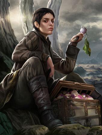 Archivo:Asha Greyjoy by Magali Villeneuve, Fantasy Flight Games©.jpg