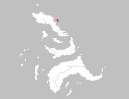 Mapa Isla de las Mujeres
