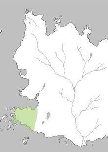 Mapa Tierras de la Discordia