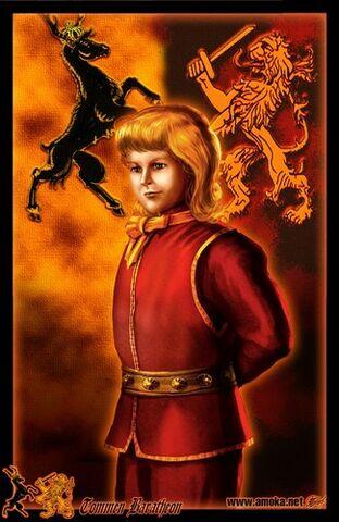 Archivo:Tommen Baratheon 2 by Amoka©.jpg