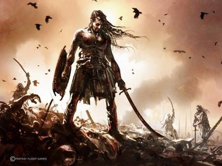 Archivo:Khal Drogo by Tomasz Jedruzek, Fantasy Flight Games©.jpg