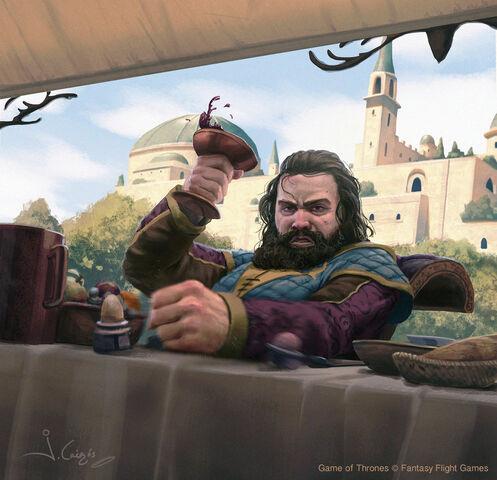 Archivo:Robert Baratheon by Joshua Cairós, Fantasy Flight Games©.jpg