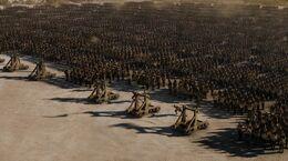 Asedio Meereen catapultas HBO