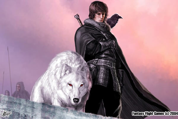 Archivo:Jon Snow by Amoka, Fantasy Flight Games©.jpg