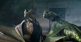 Viserion y Rhaegal encerrados HBO.jpg