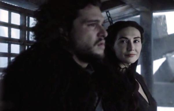 Archivo:Jon Nieve y Melisandre HBO.png