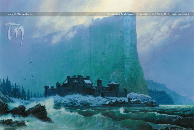 Archivo:Eastwatch by the Sea by Ted Nasmith©.jpg