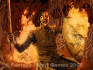 Sandor Clegane by Jonathan Standing, Fantasy Flight Games©