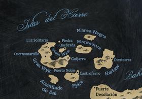 Mapa Islas del Hierro