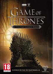 Game-of-Thrones Videojuego Carátula