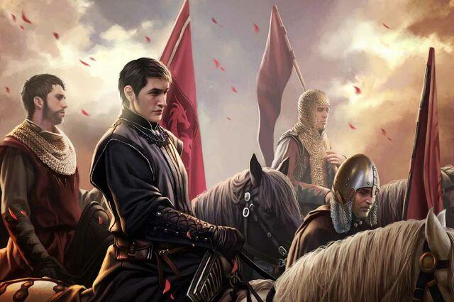Archivo:Lord Forrest Frey riding to war by Magali Villeneuve©.jpg