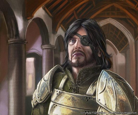 Archivo:Euron Greyjoy by Henning Ludvigsen, Fantasy Flight Games©.jpg
