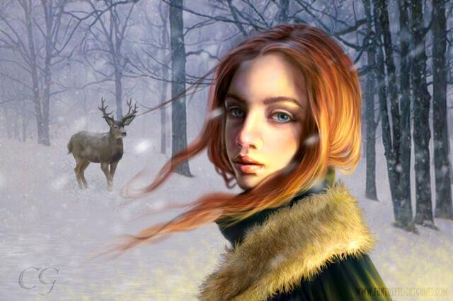 Archivo:Sansa by quickreaver, Fantasy Flight Games©.jpg