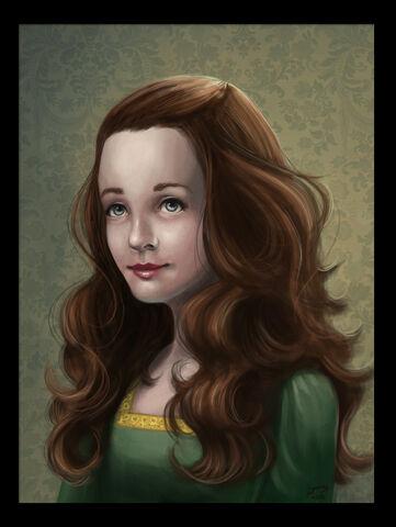 Archivo:Sansa Stark by Majoh©.jpg