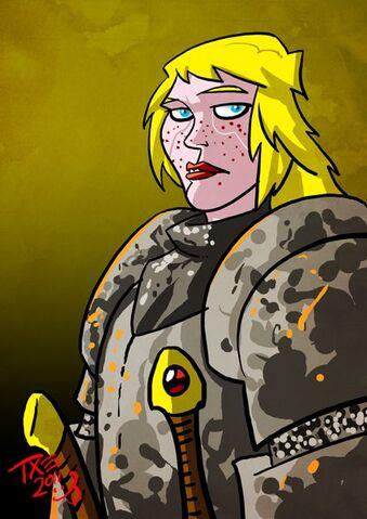 Archivo:Brienne de Tarth by The Mico©.jpg