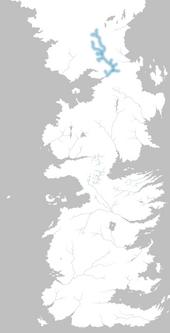 Mapa río Agualechosa