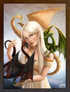 Daenerys Targaryen by Majoh©