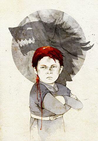 Archivo:Rickon Stark by Elia Mervi©.jpg