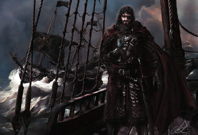 Archivo:Euron Greyjoy by Mike Hallstein©.jpg