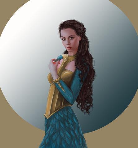 Archivo:Margaery Tyrell by Dennis Maznev©.jpg