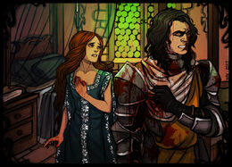 Sansa and The Hound by Enife©.jpg