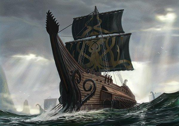 Archivo:Great Kraken by Jake Murray, Fantasy Flight Games©.png