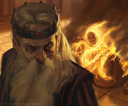 King Aerys by Jake Murray, Fantasy Flight Games©