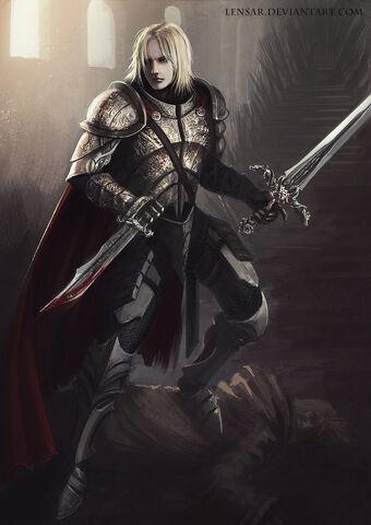 Archivo:Kingslayer (Jaime Lannister) by Alexander Borodin©.jpg