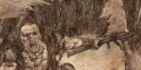Guerra entre los Primeros Hombres y los Hijos del Bosque