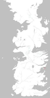 Mapa isla de Rocadragón