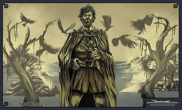 Archivo:Euron Greyjoy by Javier Bahamonde, HBO©.jpg