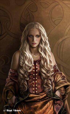 Archivo:Rhaenyra Targaryen by Magali Villeneuve©.jpg