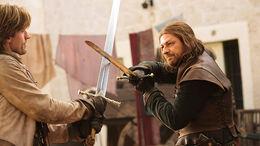 Duelo entre Jaime Lannister y Ned Stark.jpg