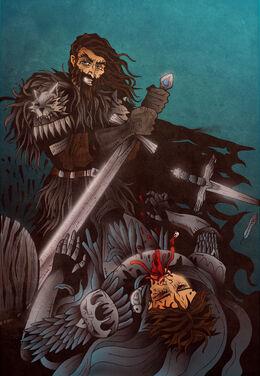 Brandon Stark vs. Petyr Baelish by ~acazigot©