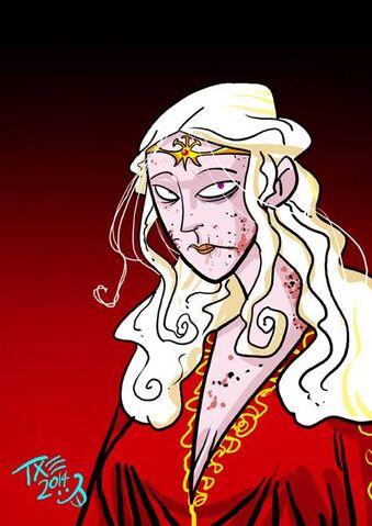 Archivo:Rhaella Targaryen by The Mico©.jpg