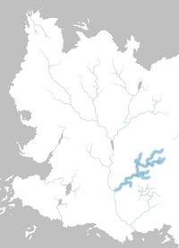 Mapa río Selhoru