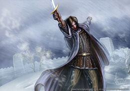 Mance Rayder by Henning Ludvigsen, Fantasy Flight Games©