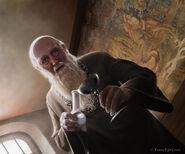 Gran Maestre Pycelle by Tiziano Baracchi, Fantasy Flight Games©