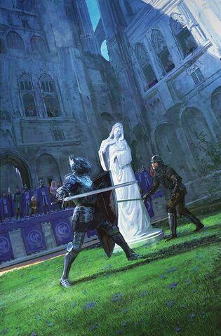 Archivo:Bronn y Vardis by Marc Simonetti©.jpg