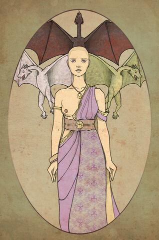 Archivo:Mother of dragons by ~mustamirri©.jpg