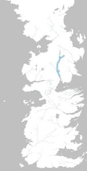 Mapa río Cuchillo Blanco