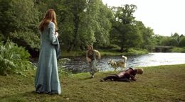 Arya confronta a Joffrey HBO.jpg