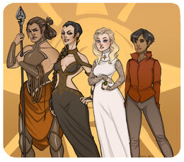 Sand Snakes by Enife©
