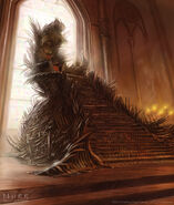 The Iron Throne by Jake Murray, Fantasy Flight Games©