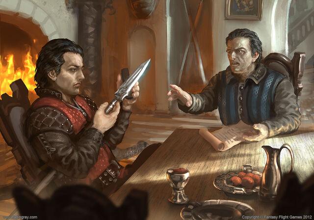 Archivo:Oberyn y Doran Martell by Lukasz Jaskolski©.jpg