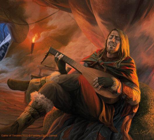 Archivo:Mance Rayder KING beyond the wall by Joshua Cairós, Fantasy Flight Games©.jpg