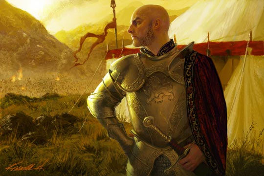 Archivo:Tywin Lannister by Michael Komarck, Fantasy Flight Games©.jpg