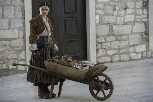 Archivo:Arya como Gata HBO.jpg