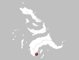 Mapa Cabeza de Ébano