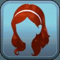 VOLUMINOUS WAVY HEADBAND (RED)
